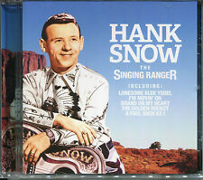 HANK SNOW THE SINGING RANGER CD - LONESOME BLUE YODEL, MARRIAGE VOW & MORE