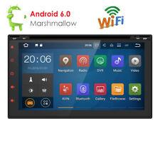 "7"" 2 Din Android 6.0 Car DVD GPS Player WiFi 3G Radio Stereo Sat Nav Bluetooth"