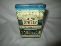 Vintage Bond Street Pipe Tobacco Tin Nice!!!