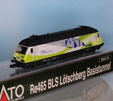 Kato 137124, Spur N, BLS E-Lok Re 4/4 465 001-6, Lötschberg Basistunnel, Ep. 6