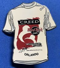 Hard Rock Cafe ~ Orlando ~ Creed ~ Arms Wide Open Limited Edition Lapel Pin [H]