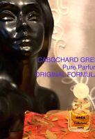 Cabochard Greś PURE PARFUM First Formula Micro Mini 1mL Very Rare Fabric Ribbon