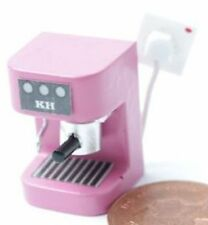 Dolls House Miniature 12th Scale Espresso Machine - Available in Various Colours