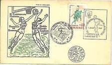 BASKETBALL -  FDC COVER - BRAZIL 1957