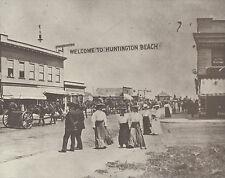 "HUNTINGTON BEACH 1st ""4th of JULY"" PARADE 1904 Photo Print 947 11"" x 14"""