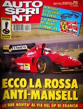Autosprint 26 1994 La Rossa anti Mansell. Renault Clio KIT. Miki Biason SC.55