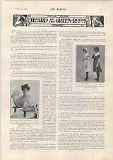 1905 GABRIELE FAURE seduto PIANOFORTE direttore Parigi Conservatoire
