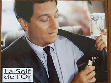 CHRISTIAN CLAVIER PHOTO EXPLOITATION LOBBY CARD LA SOIF DE L'OR