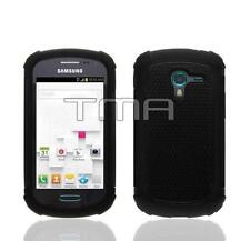 Fits Samsung Galaxy Ace 2 II-E T599 Case Rugged Impact Shockproof Cover - Black