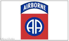 82nd Airborne Flag - 82nd division - 3' x 5'  82nd Airborne Flag - Banner White