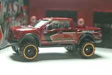 Hot Wheels '17 Ford F-150 Raptor Pick-Up Truck Loose - 1:64 - Deep Red