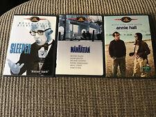 WOODY ALLEN 3-DVD LOT: SLEEPER / ANNIE HALL / MANHATTAN OOP DVD's