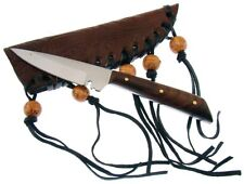 """5.75"""" Patch Skinning Skinner Hunting Knife Knives Stainless Custom +Sheath"""