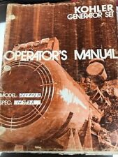 Kohler 260KW Manual  Several manuals in one! Wiring diagram, parts list, Cummins