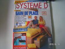 ** Système D n°627 Gain de place / Plan meuble télé hi-fi / Scie circulaire