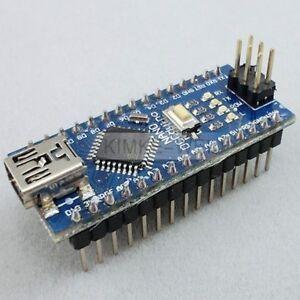 Mini USB Nano V3.0 ATmega328P CH340G 5V 16M Micro-controller board Arduino New