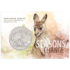 Australien - 1 Dollar 2017 - Seasons Change - Känguru (2.) - 1 Oz Silber ST