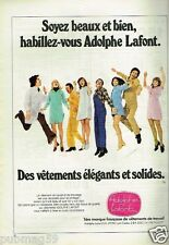 Publicité advertising 1976 Les Vetements de travail Adolphe Lafont
