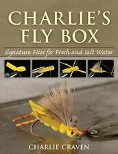 Charlie's Fly Box: Signature Flies for Fresh and Salt Water-ExLibrary