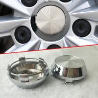 4x 60mm (56mm) Car Wheel Hub Center Caps Set of 4 for Car Rims Universal Part