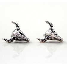 1 Paar Bull Design Ohrstecker Punk Ear Studs Ohrring Ohrschmuck