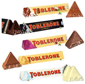 TOBLERONE 360g MILK WHITE DARK CHOCOLATE COCONUT FRUIT & NUT Present🎁