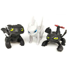 How To Train Your Dragon Action Figure Kids Birthday Xmas Toy 3pcs Free Shipping