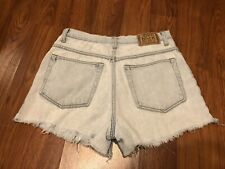 Womens Canyon River Blues Relaxed High Waist Mom Distroy Distress Shorts 31 (28)