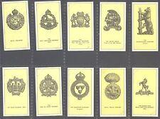 Walters - Some Cap Badges of Territorial Regiments - Set