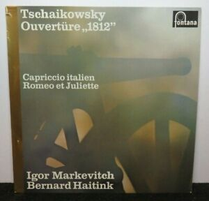 IGOR MARKEVITCH BERNARD HAITINK TSCHAIKOWSKY (NM) 6530009 LP VINYL RECORD