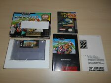 Super Mario Kart Game Complete Super Nintendo CIB Players Choice SNES