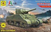 1/72 Scale model. Tank sherman