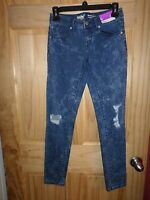 NEW Mossimo Stretch Mid Rise JEGGING Skinny Jeans Womens Size 00 / 24 INSEAM 28