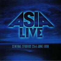 Asia - Live Central Studios 23rd June 1990 (Blue 180g Vinyl LP)(New/Sealed)