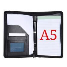 Document Folder File Case Office Paper Holder Pu Leather Storage Pouch Organizer