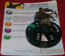 Orque Archer 020 Communauté De Bague Heroclix