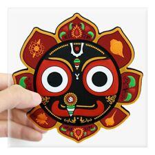 CafePress Jagannath Rathayatra Design1 Square Sticker  (163727572)