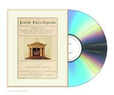 The Jewish Encyclopedia; History, Religion, Literature- 12 Vol Set Books On DVD