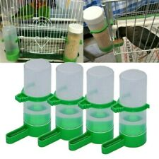 4 Pcs Bird Automatic Water Feeder Parrot Food Feeding Bird Cage Accessories