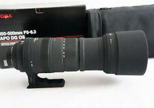 Sigma APO DG 150-500mm F/5-6.3 APO HSM für Nikon