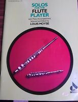 Allans Edition no.1179 Solos for the FLUTE PLAYER Louis Moyse with Piano  pb