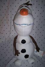 "Disney Frozen Snowman Olaf 23"" Light Up Plush Soft Toy Stuffed Animal"