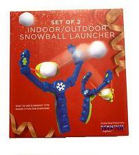 Snowball Launcher Set of 2 Indoor + Outdoor