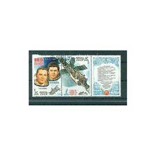 Russie - USSR 1981- Michel n. 5049/50 - Complexe orbital Saliout 6 Soyouz - ob