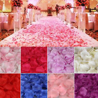 Pedals-- 1000 parts Petals of rose flower Favors for Wedding Decoration Red