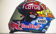 "Oakley Os 2"" Helmet Visor screen Stickers 2x ORANGE Marque Marquez !!FREEPOST!!"