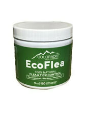 EcoFlea by ColoradoDog - 120 Count All Natural Chewable Dog Treats Flea Tick