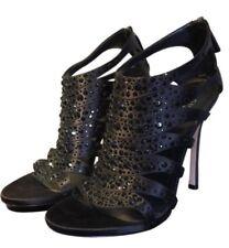 Gucci Black Raso Seta heels 258444 F1400 Brand new with tags RRP $1295