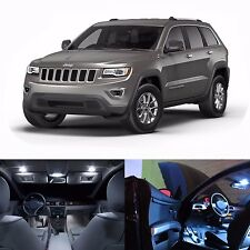 LED White Lights Interior License Package Kit For Jeep Grand Cherokee 2011-2014