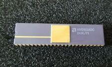 Vintage AMD Purple Ceramic & Gold 48 Pin DIP Chip Microprocessor AM2903ADC